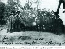Kirmes Belmen 1920