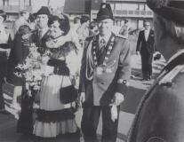 schuetzenkoenig_1978 Josef Pesch und Königin Otti