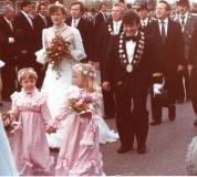 schuetzenkoenig_1981 Peter Kopp und Königin Karin Broich