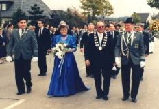 schuetzenkoenig_1987 Heinrich Broich und Königin Gertrud