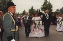 schuetzenkoenig_1991 Franz Burbach und Königin Trude