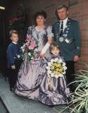 schuetzenkoenig_1996 Heinz Brand und Königin Wilma